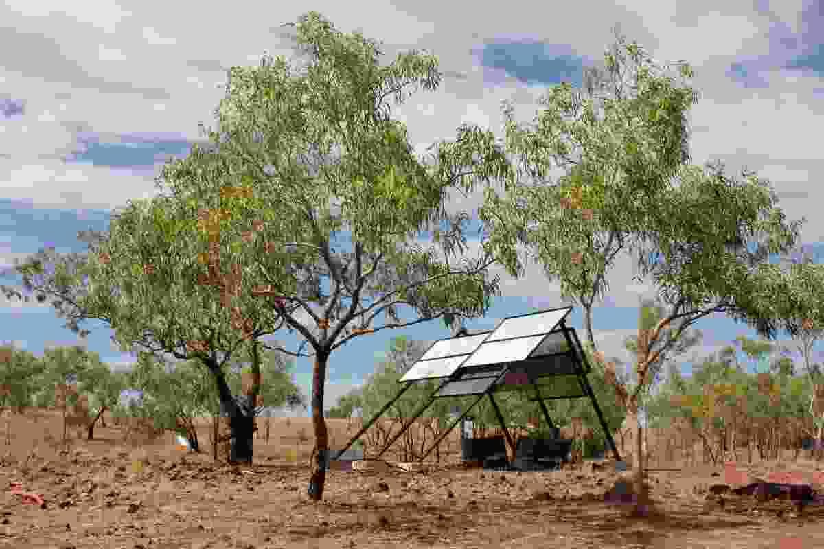 Wave Hill Walk-off Pavilions by Bower Studio, Melbourne School of Design, The University of Melbourne.