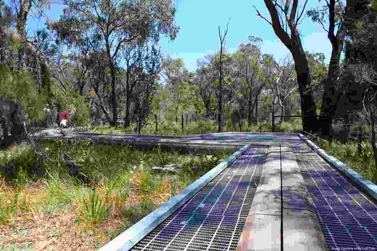 Walkways provide universal access while also conserving fragile plant communities.