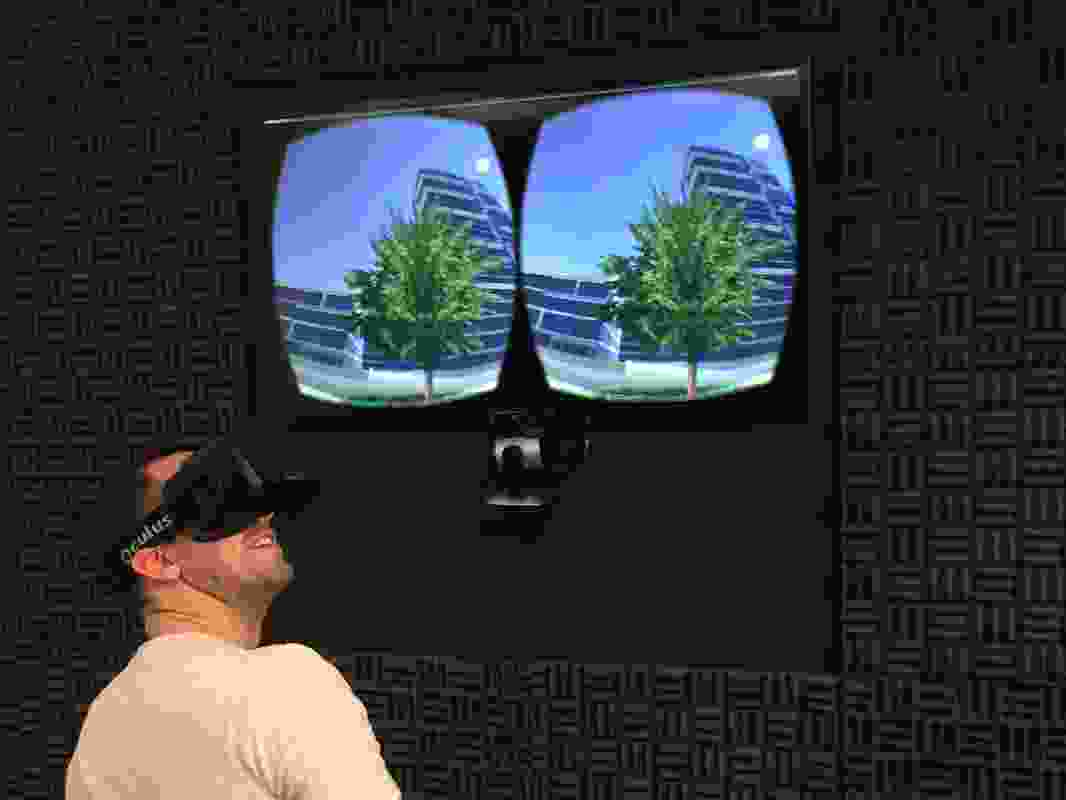 Exploring the Virtual City – Immersive Public Participation using VR headsets by Richard Barry PIA (Assoc.).