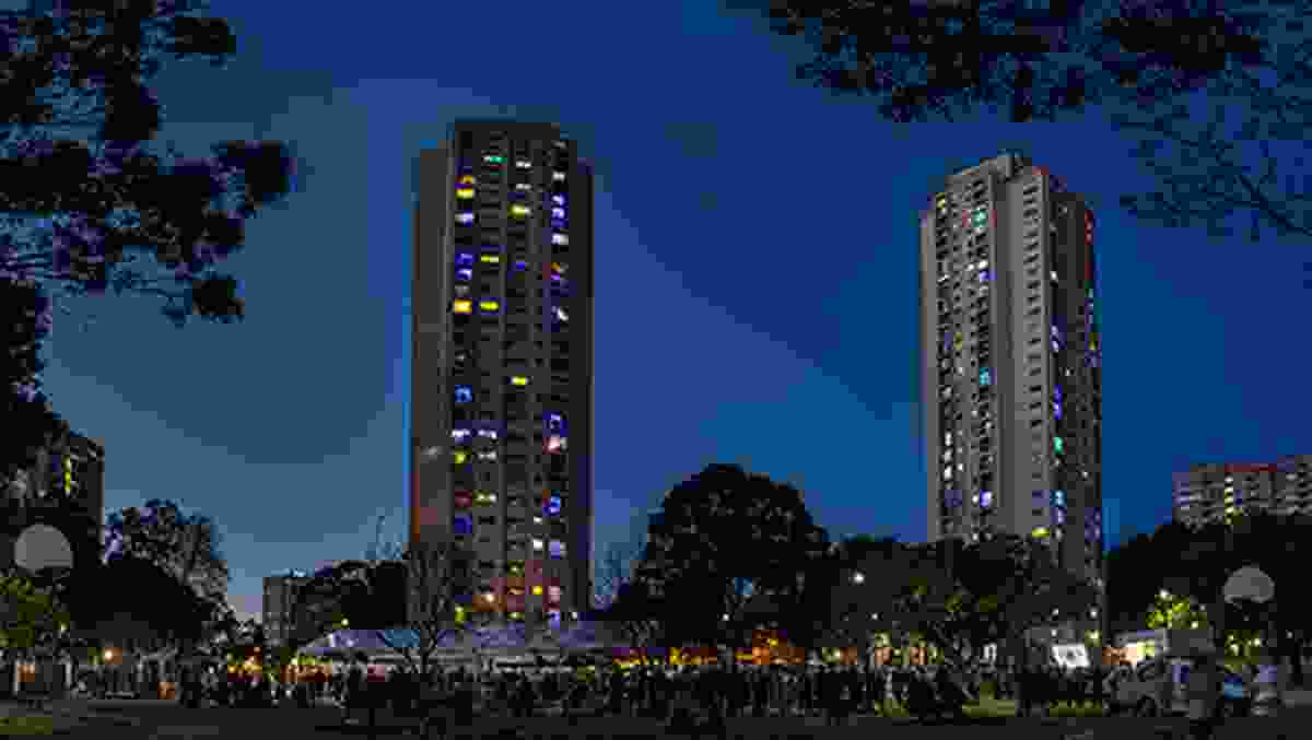 The Matavai and Turanga public housing towers will be demolished as part of the redevelopment of the Waterloo public housing estate.