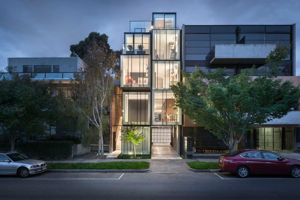 St Kilda Mixed-use House by DDB Design Development and Building with Matt Gibson Architecture and Design.