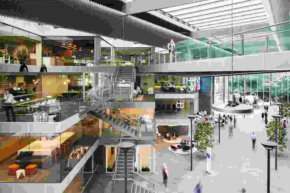 Qantas Campus by Hassell.