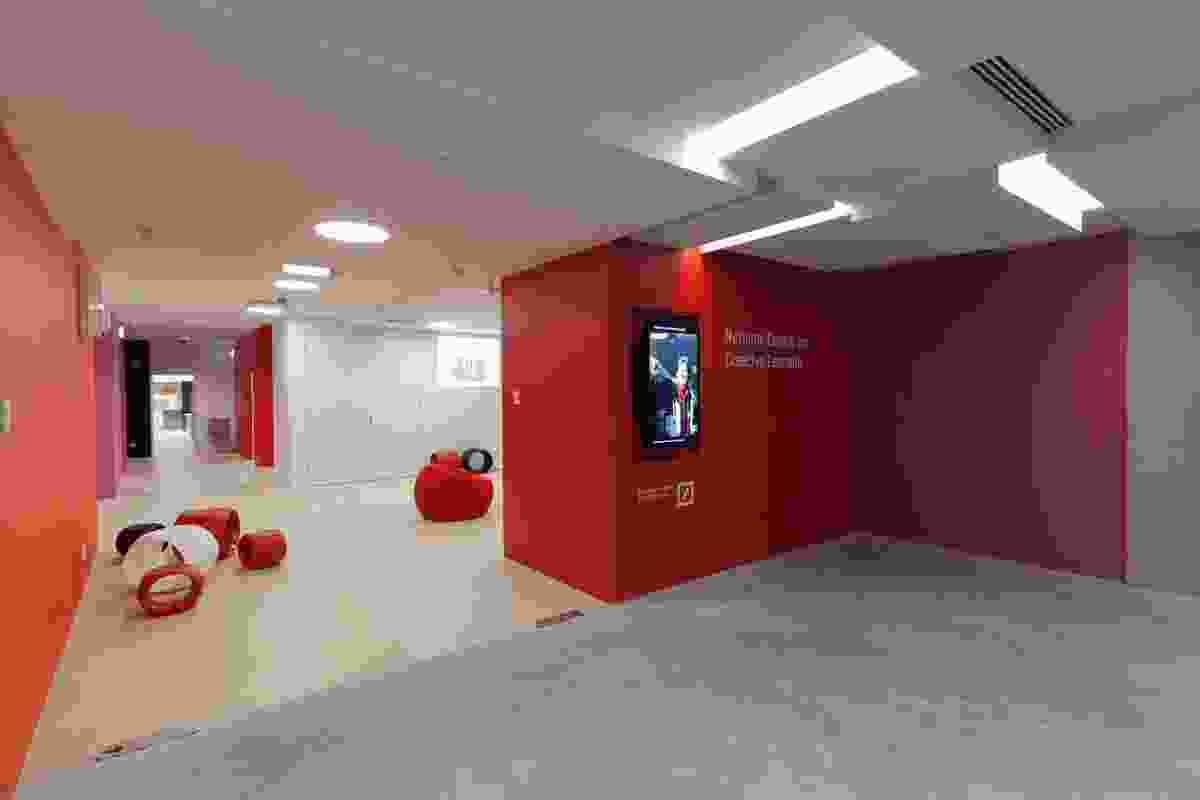 National Centre for Creative Learning (NCCL) foyer on level 3 of the museum.