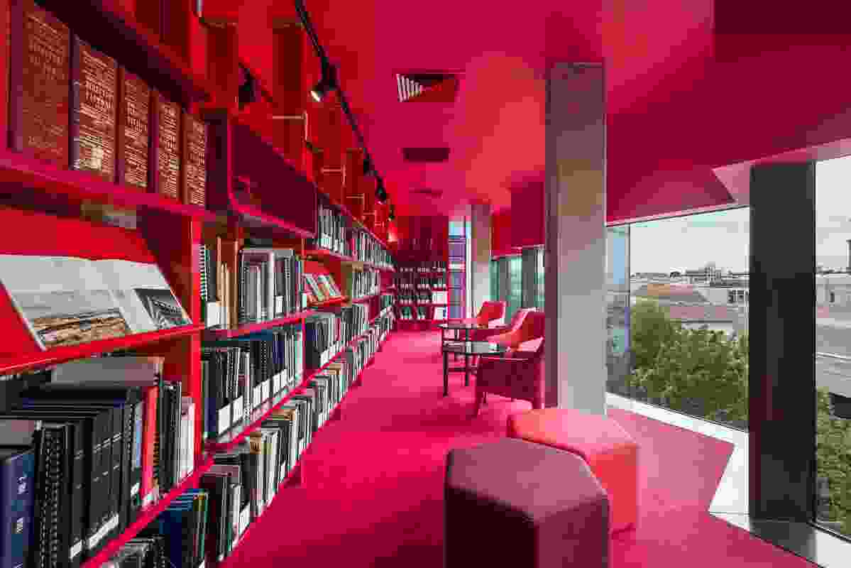 The heritage centre reading room in the Geelong Library and Heritage Centre by ARM Architecture.