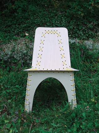 The Stitched chair would not be out of place 