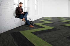 Carpets Inter's new Breaking Ground collection combines high performance and functional aesthetics