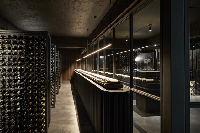 Vasse Felix Winery by iredale pedersen hook architects with Hecker Guthrie.
