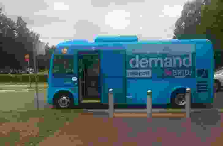 BRIDJ runs on-demand bus services in parts of Sydney.