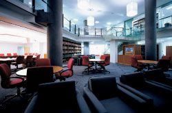The Magistrates Library and communal area. Image: Bart Maiorana