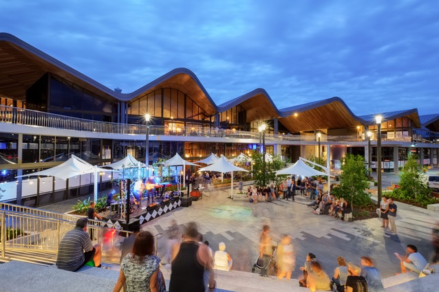 Robina Market Hall Redevelopment by The Buchan Group.