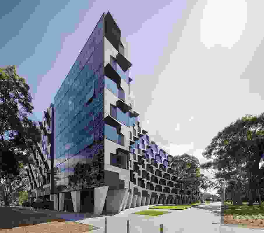 Monash University Logan Hall (VIC) by McBride Charles Ryan.