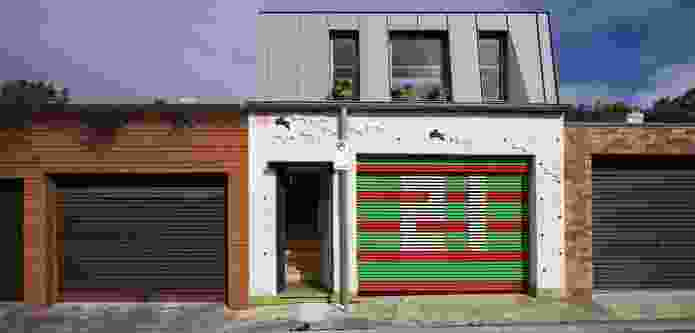Laneway Studio by McGregor Westlake Architecture.