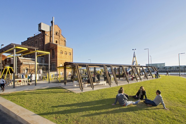 The Hart's Mill Projects by Mulloway Studio and Aspect Studios.