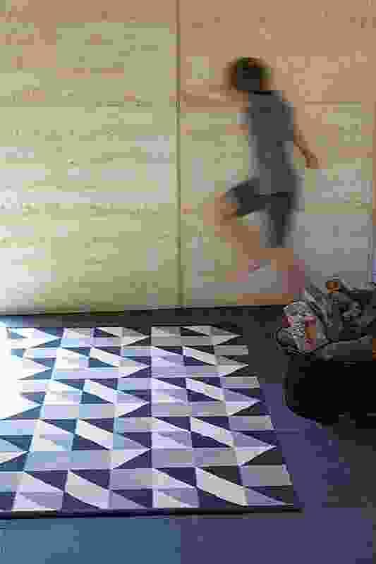 Triangle rug.