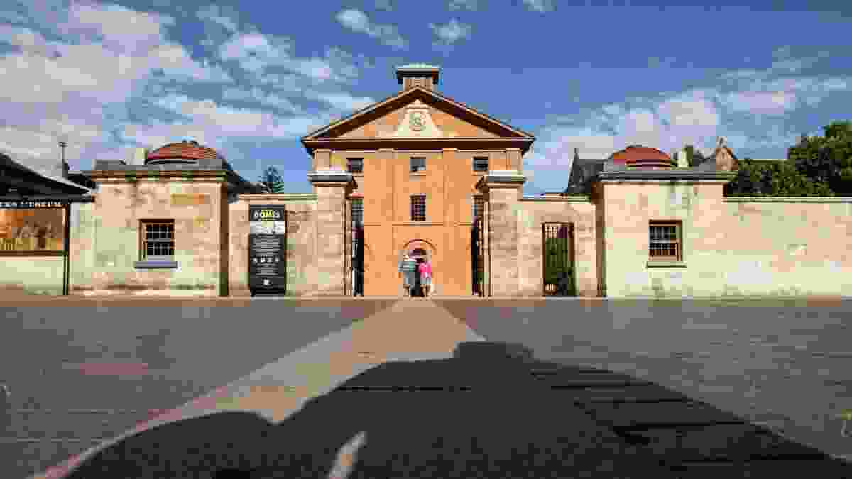 Hyde Park Barracks (Reconstruction of Gate Lodge Domes) by Clive Lucas Stapleton & Partners.
