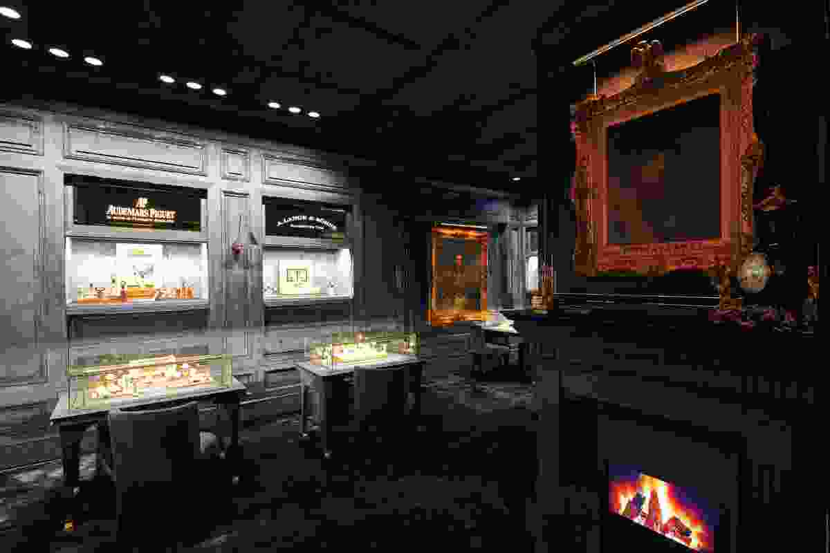 Retail store Malmaison by the Hourglass by Distillery.