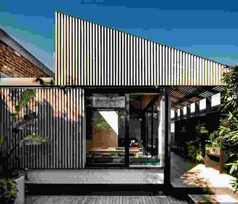 Light Corridor House by Figr Architecture Studio.