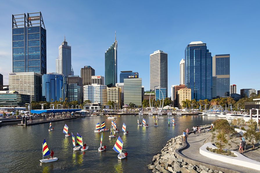 Elizabeth Quay by ARM Architecture and Taylor Cullity Lethlean.
