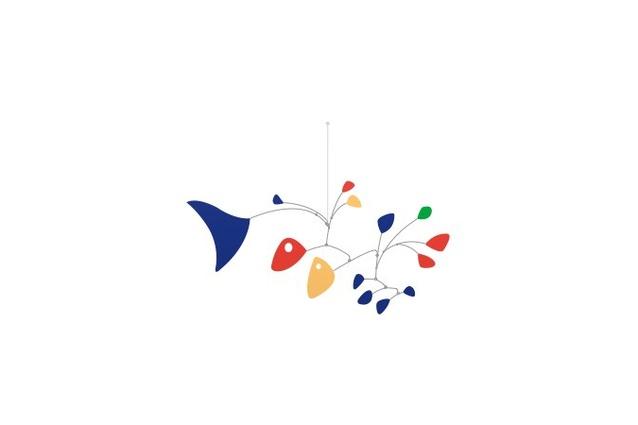 Google's image commemorating Calder's birthday.