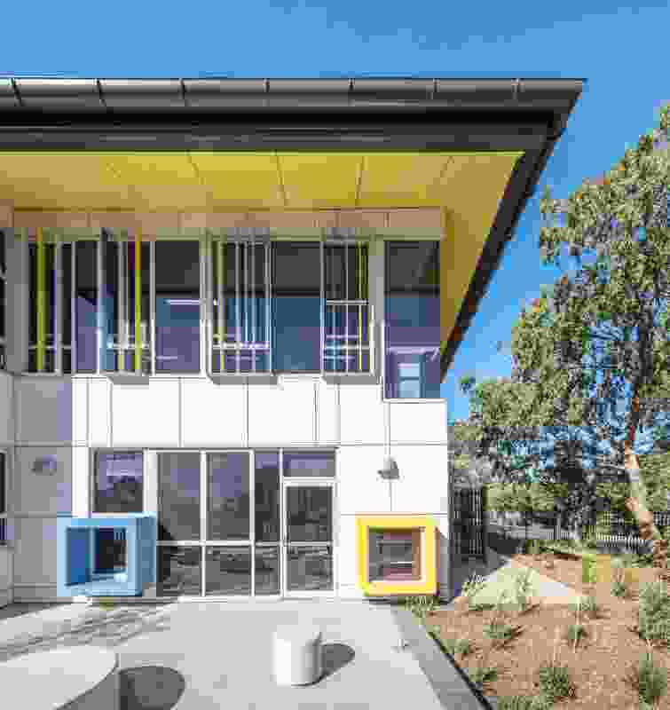 Penrith Public School building by PTW Architects in association with McIntosh and Phelps.