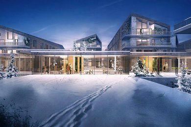 Acute Ward for New Hospital Bispebjerg by Terroir and CF Møller.