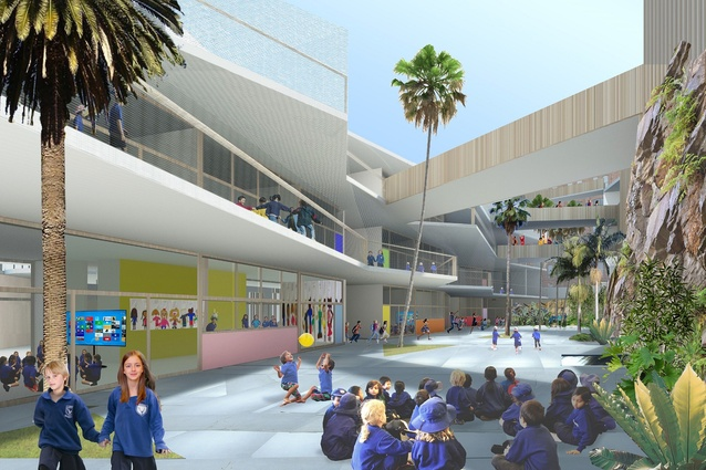 Ultimo-Pyrmont Public School by DesignInc, Lacoste and Stevenson and BMC2.