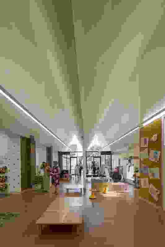 St Columba's Catholic Primary School by Neeson Murcutt Architects.