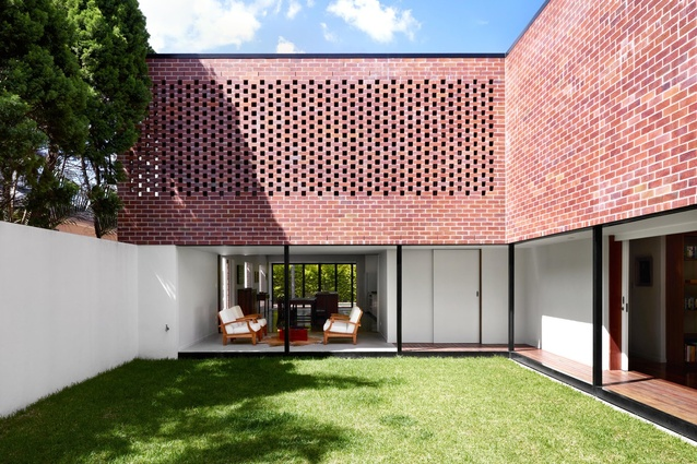 Boston Street House by James Russell Architect.