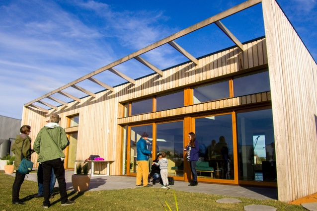 The Ten Star Home by Clare Cousins Architects and The Social Weaver at The Cape is Australia's first ten star-rated house.