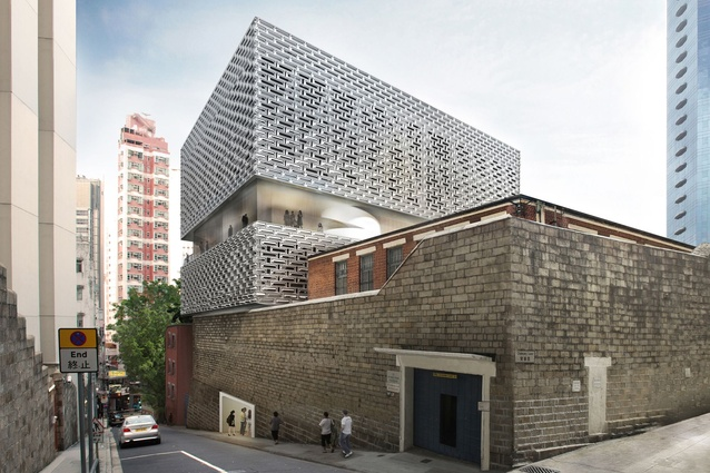 Former Central Police Station and Victoria Prison redevelopment in Hong Kong by Herzog and de Meuron.