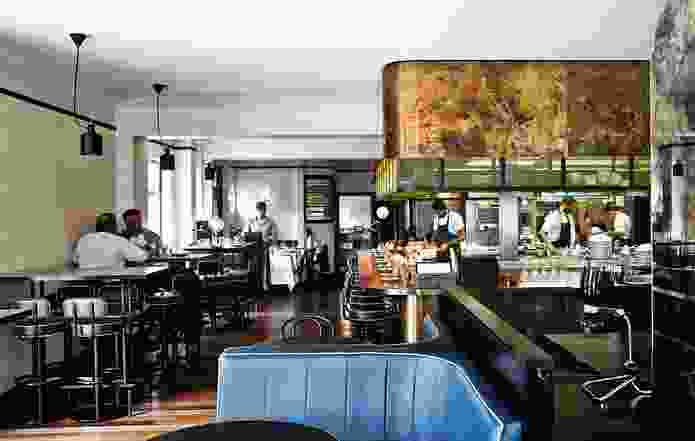 L'Hotel Gitan aims to be an informal French bistro – a place where people can call in for a drink, lunch or snack.
