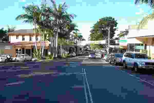 Bangalow high street.