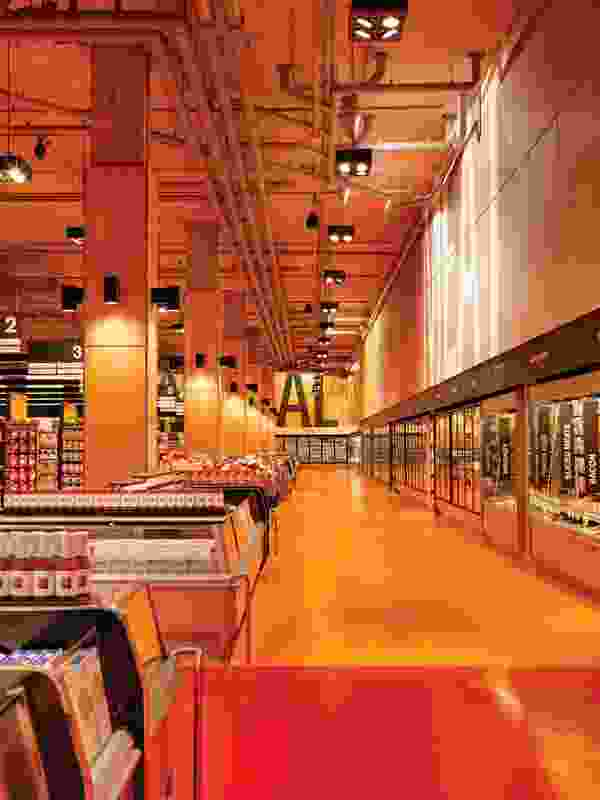 Loblaws Maple Leaf Gardens designed by Landini Associates.