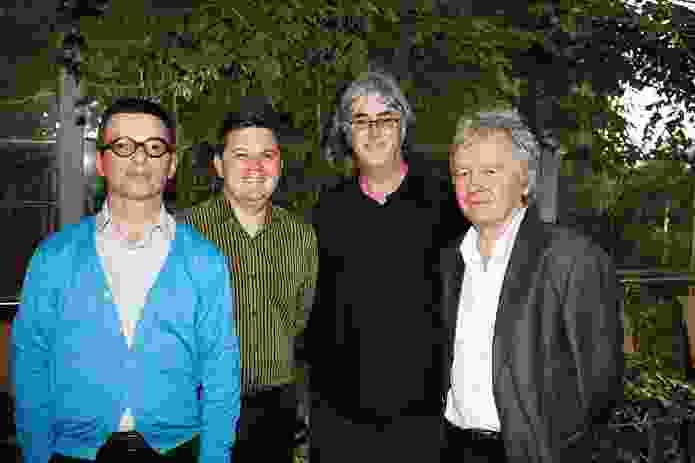 Mauro Baracco, Cameron Bruhn, James Jones and Mike Jenkins.