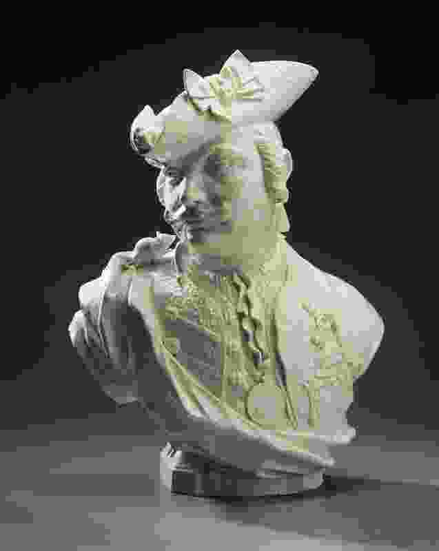 The inclusion of the bust of Baron Schmiedel (1793) by Johann Joachim Kändler in the exhibition represents the clay coil as an eighteenth-century precedent to additive manufacturing.