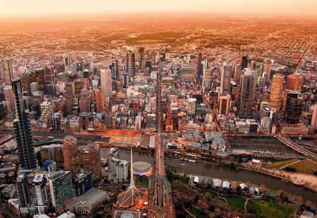 Central Melbourne.