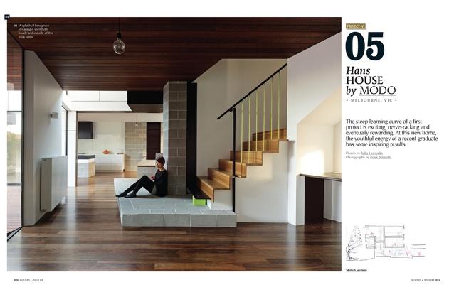 <em>Houses 89</em> preview: Hans House by MODO.