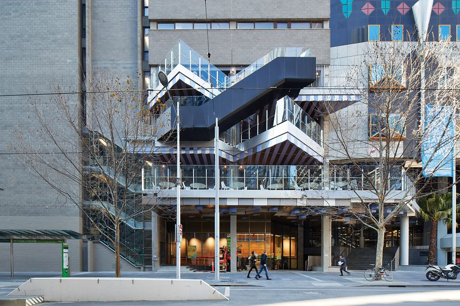 New Academic Street, RMIT University by Lyons with NMBW Architecture Studio , Harrison and White, MvS Architects and Maddison Architects.