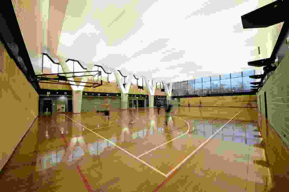 UTS Multi-Purpose Sports Hall by PTW Architects.