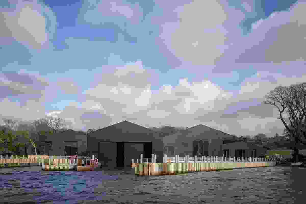Carmody Groarke's Windermere Jetty Museum opens in England's Lake District
