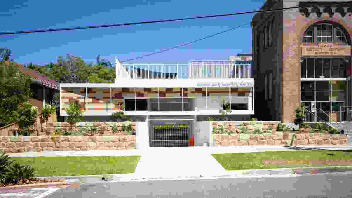 Balgowlah Zone Substation Adaptive Reuse - Giraffe Early Learning Centre by Supercontext.