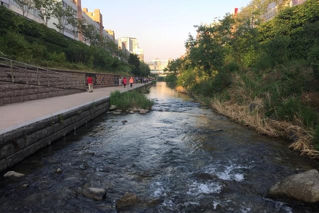 restoring calm seoul s cheonggyecheon stream landscape australia