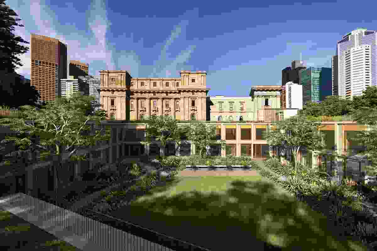 $40m addition to Vic Parliament House