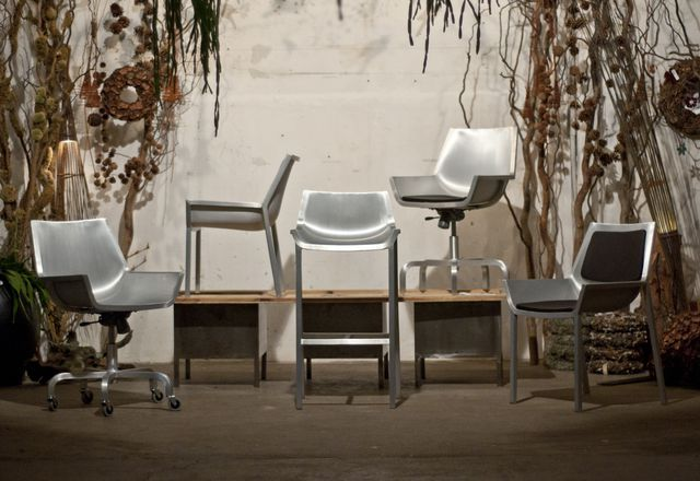 The Sezz collection from Emeco, designed by Christophe Pillet.