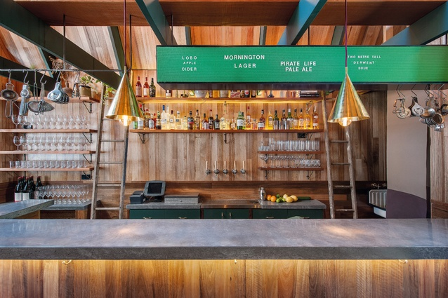 Best Bar Design: Pink Moon Saloon by Sans-Arc Studio.
