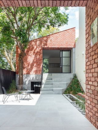 Glebe Red by Benn and Penna Architecture.