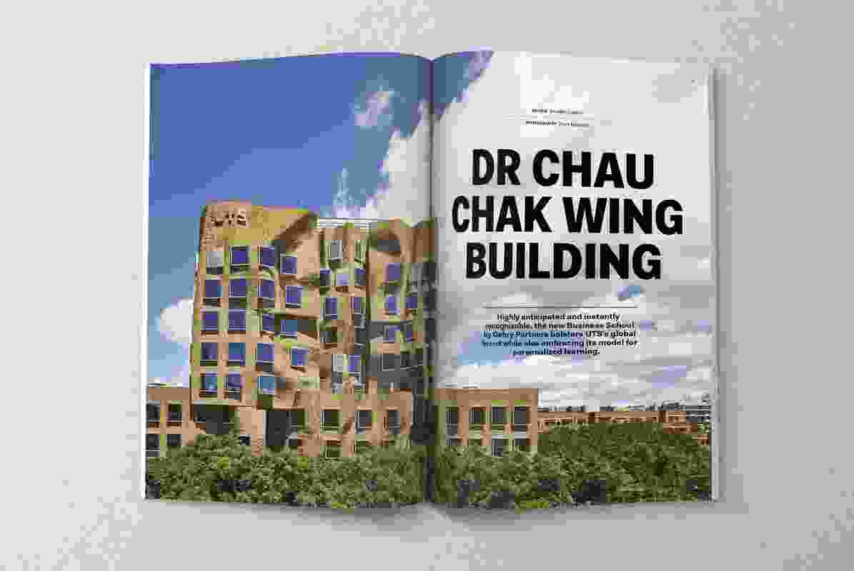 Dr Chau Chak Wing Building by Gehry Partners.