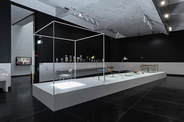 The <I>Clement Meadmore: The art of mid-century design</I> exhibition at the Ian Potter Museum of Art at the University of Melbourne.