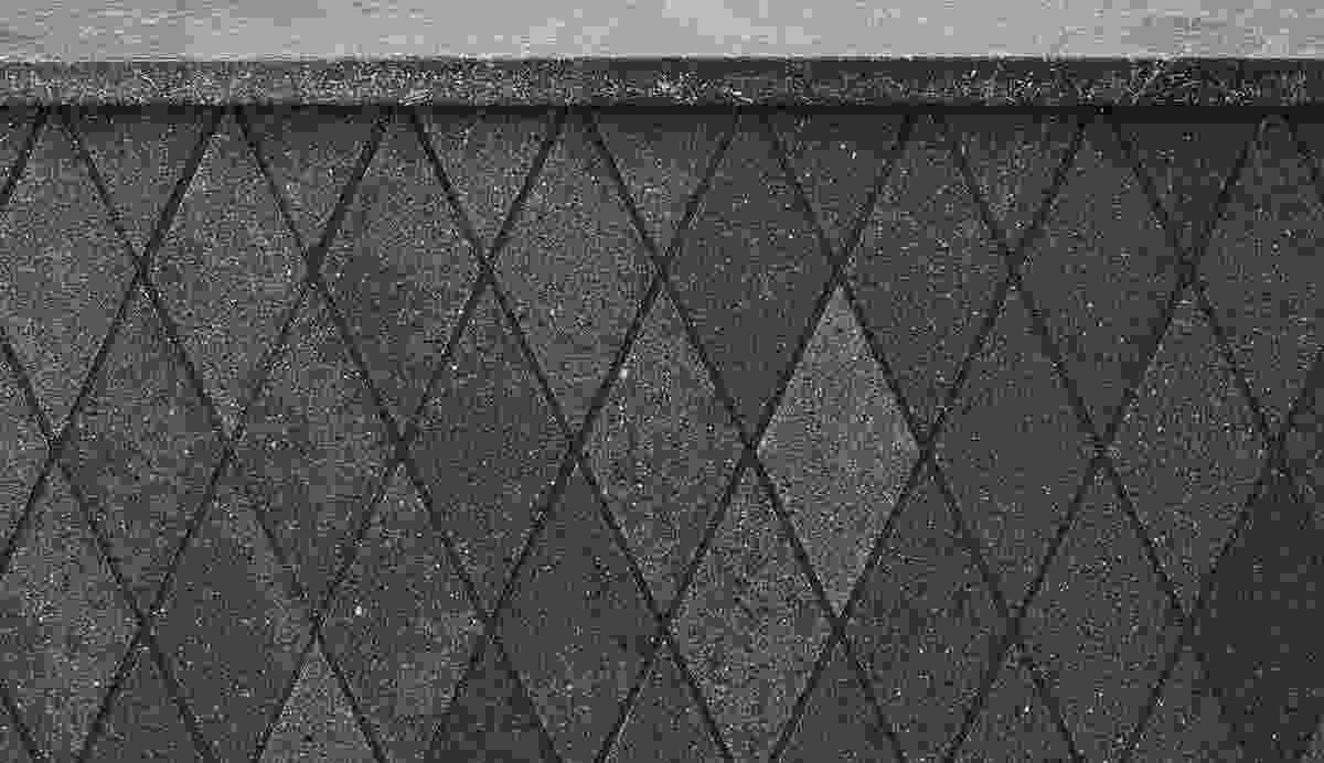 The Polardur diamond mosaics.