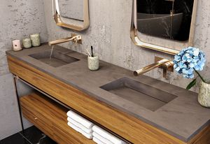 The Multi-basin Washplane by Corian, supplied by CASF.